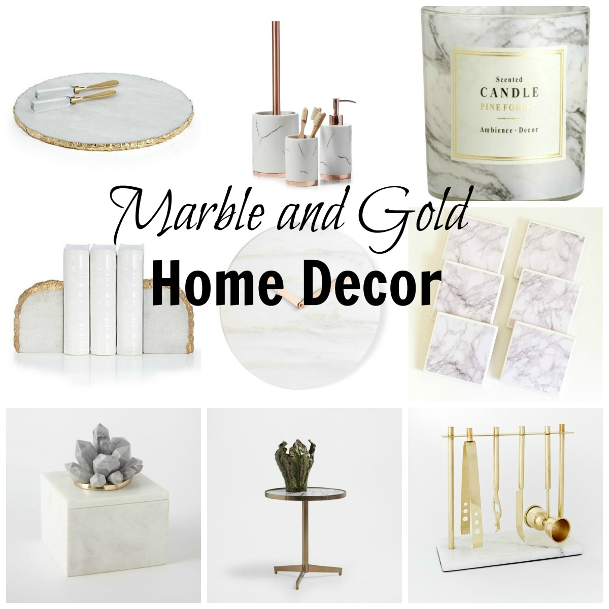 Home Design And Decor Expo 2015: Trend Spotting: Gold And Marble Decor