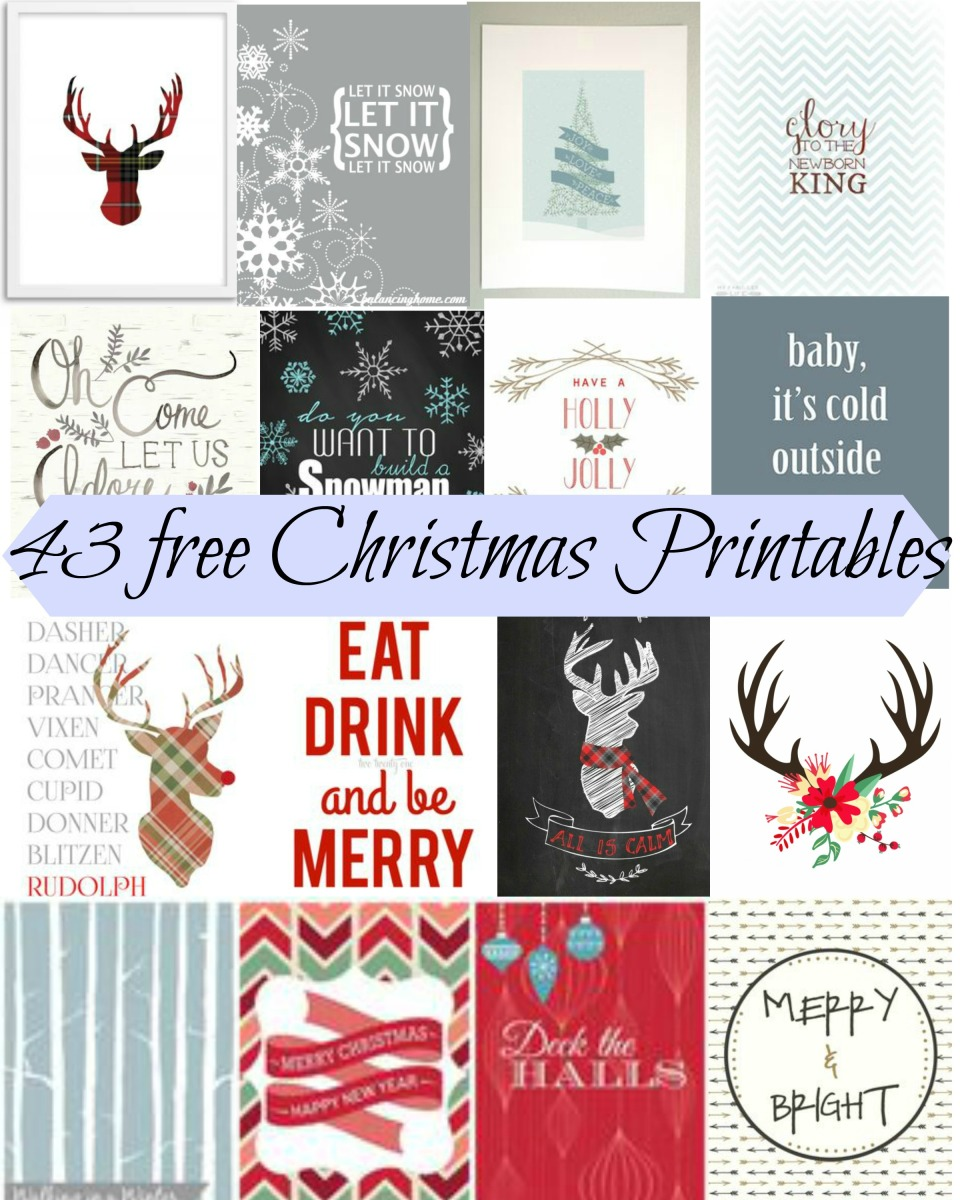 43 free christmas printables jenn and tonic. Black Bedroom Furniture Sets. Home Design Ideas