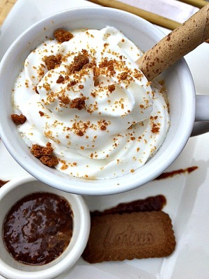 cookie butter hot chocolate 2
